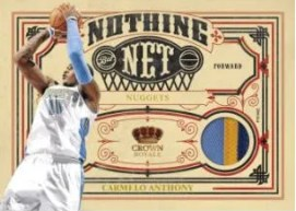 09/10 Panini Crown Royale Carmelo Anthony Nothing But Net