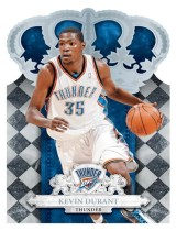 2009/10 Panini Crown Royale Kevin Durant Base Card