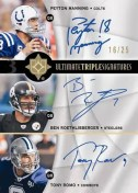 Ultimate Collection Football Triple Auto