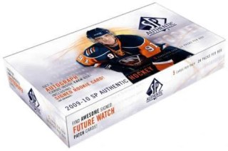 2009/10 SP Authentic Hockey Hobby Box