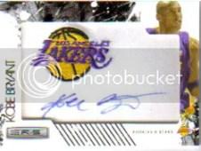 2009/10 Panini Kobe Bryant Autograph