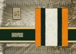 Famous Fabrics Brett Favre Milestone