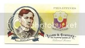 Rizal Topps Allen & Ginter