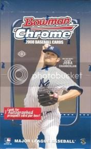2008 Bowman Chrome Hobby Box