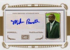 2009 Topps Mayo Auto Mike Powell