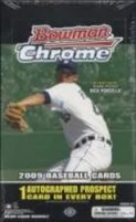 2009 Bowman Chrome Baseball Box