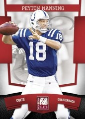 2010 Donruss Elite Peyton Manning Base