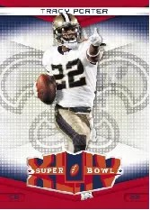 2010 Donruss Elite Tracy Porter Super Bowl Card