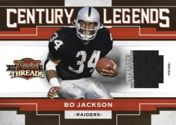 2010 Panini Threads Century Legends Bo Jackson