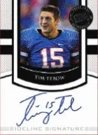 2010 Press Pass Portraits Tim Tebow Autograph