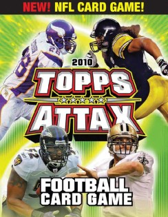 2010 Topps NFL Attax Football Box Checklist
