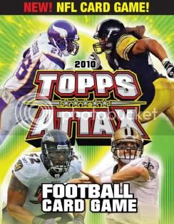 2010 Topps NFL Attax Football Box Checklist