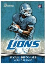 2012 Bowman Ryan Broyles Base RC