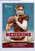 2012 Bowman Kirk Cousins Base Rookie RC