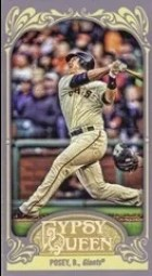 2012 Gypsy Queen Buster Posey Mini
