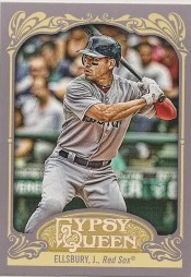 2012 Topps Gypsy Queen Jacoby Ellsbury Base