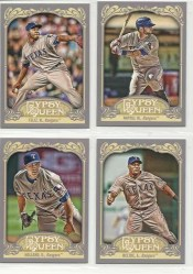 2012 Topps Gypsy Queen Mike Napoli Base Card