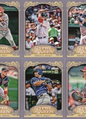 2012 Topps Gypsy Queen Kevin Youkilis Sp Variation
