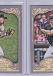 2012 Topps Gypsy Queen Mike Stanton Sp Photo Variation