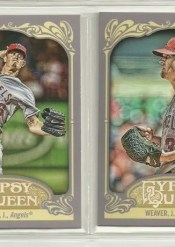 2012 Topps Gypsy Queen Weaver Sp Photo Variation