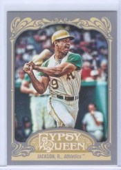2012 Topps Gypsy Queen Reggie Jackson Sp Card