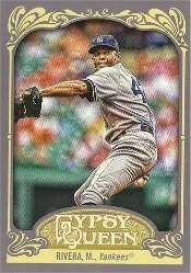 2012 Topps Gypsy Queen Mariano Rivera Base Card