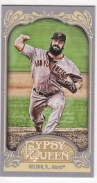 2012 Topps Gypsy Queen Brian Wilson Mini Sp