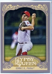2012 Topps Gypsy Queen Roy Oswalt Base
