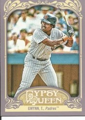 2012 Topps Gypsy Queen Regular Base Tony Gwynn Card