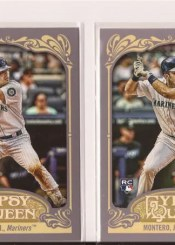 2012 Topps Gypsy Queen Jesus Montero RC Base