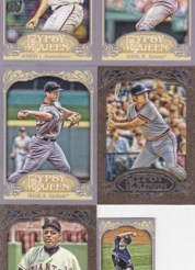 2012 Topps Gypsy Queen Ian Kennedy Base Card