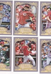 2012 Toppsy Gypsy Queen Johnny Bench Base