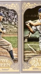 2012 Topps Gypsy Queen Lou Gehrig Mini Sp