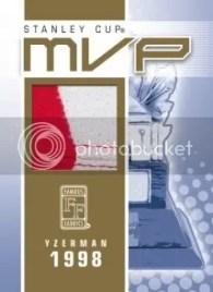 Famous Fabrics Steve Yzerman MVP