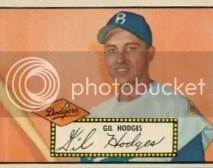 Gil Hodges 1952 Topps #36