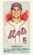 2010 Allen & Ginter David Wright Base Card