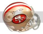 2010 TriStar Hidden Treasures Football Joe Montana Mini Helmet