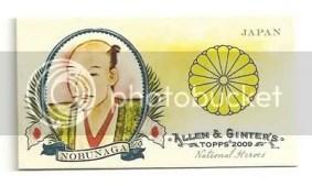 Nobunaga Topps Allen & Ginter