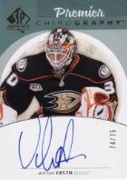2013-14 SP Authentic Viktor Fasth Autograph