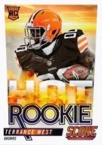 2014 Score Football Hot Rookies Terrence West