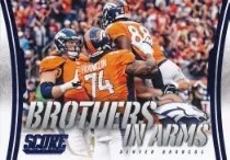 2014 Score Brothers in Arms Broncos