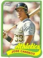 2014 Topps 1989 Mini Jose Canseco