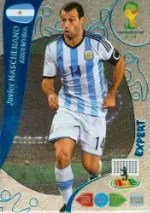 2014 Adrenalyn XL Javier Mascherano World Cup