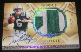 2009 Upper Deck Exquisite Mark Sanchez RC