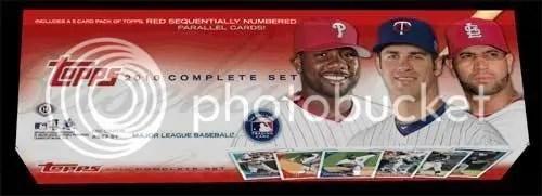 2010 Topps Baseball Complete Factory Set