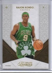 2009/10 Timeless Treasures Rajon Rondo Clover Patch