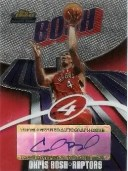 03/04 Topps Finest Chris Bosh Autograph Rookie Card