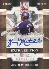 Jared Mitchell 2009 Donruss EEE Elite Extra Edition Autograph RC Rookie
