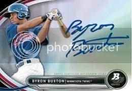 2013 Bowman Platinum Byron Buxton