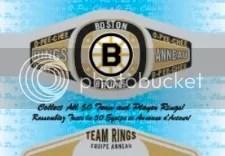 2013-14 O-Pee-Chee Team Rings Bruins